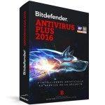 Bitdefender Antivirus Plus 2016 - 1 An 1 Poste