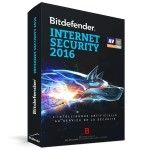 Bitdefender Internet Security 2016 - Licence 1 An 3 Postes