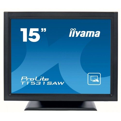 "Iiyama 15"" LED Tactile onde accoustique - ProLite T1531SAW-B3"