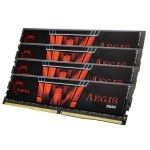 G.Skill Aegis 64 Go (4x16Go) DDR4 2400 MHz CL15