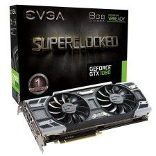 eVGA GeForce GTX 1080 SuperClocked Gaming - 8 Go