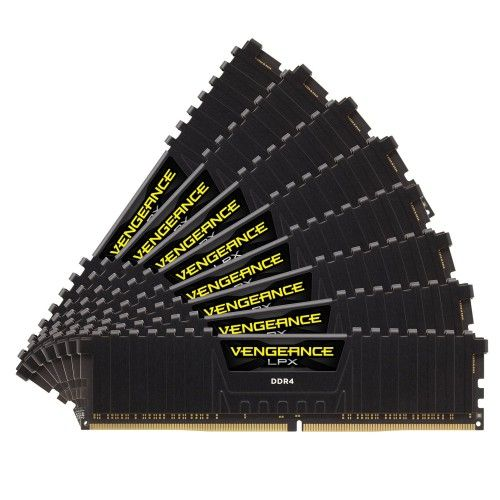 Corsair Vengeance LPX Series Low Profile 64 Go (8x8Go) DDR4 2933 MHz CL16