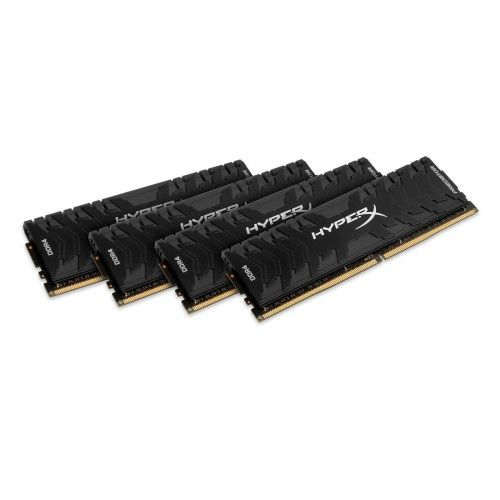 HyperX Predator Noir 64 Go (4x16Go) DDR4 2400 MHz CL12
