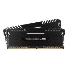Corsair Vengeance LED Series 16 Go (2x8Go) DDR4 3000 MHz CL16 - Blanc
