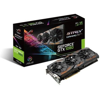 Asus ROG STRIX-GTX1080-A8G-GAMING - GeForce GTX 1080