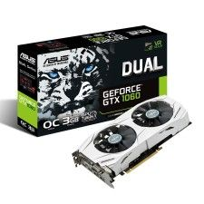 Asus DUAL-GTX1060-O3G - GeForce GTX 1060 OC Edition