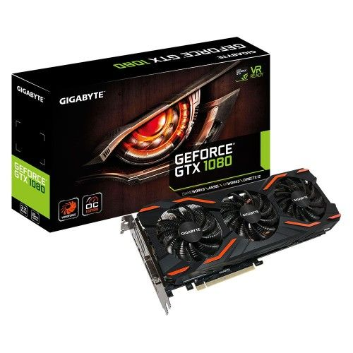 Gigabyte GV-N1080WF3OC-8GD - GeForce GTX 1080 WINDFORCE OC