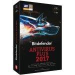 Bitdefender Antivirus Plus 2017 - 1 An 1 Poste