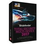Bitdefender Total Security 2017  2 ans - 10 appareils