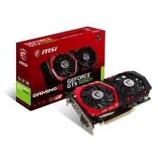 MSI GeForce GTX 1050 Ti Gaming X - 4 Go