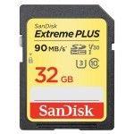 SanDisk SDHC Extreme PLUS UHS-1 U3 V30 32 Go