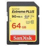 SanDisk SDXC Extreme PLUS UHS-1 U3 V30 64 Go - SDSDXWF-064G-GNCIN