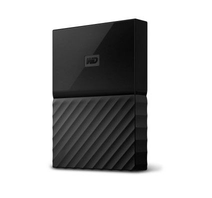 WD My Passport 4 To Noir (USB 3.0) - WDBYFT0040BBK-WESN