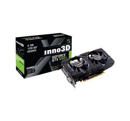Inno3D GeForce GTX 1050 Ti Twin X2 - 4 Go
