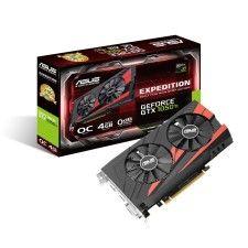Asus GeForce GTX 1050 Ti OC eSports - 4 Go