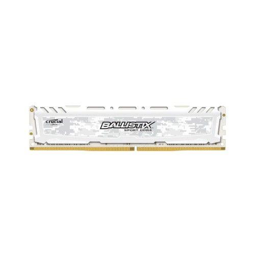 Ballistix Sport LT White DDR4 8 Go 2666 MHz CAS 16