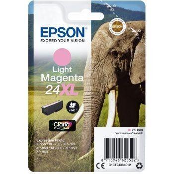 Epson Elephant 24XL Magenta clair