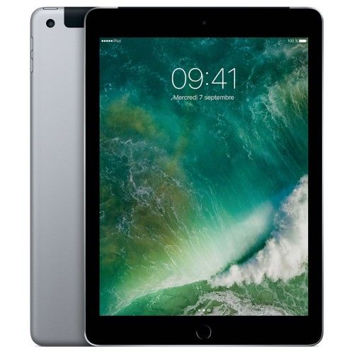 Apple iPad Wi-Fi 32 GB Wi-Fi + Cellular Gris sidéral - MP1J2NF/A