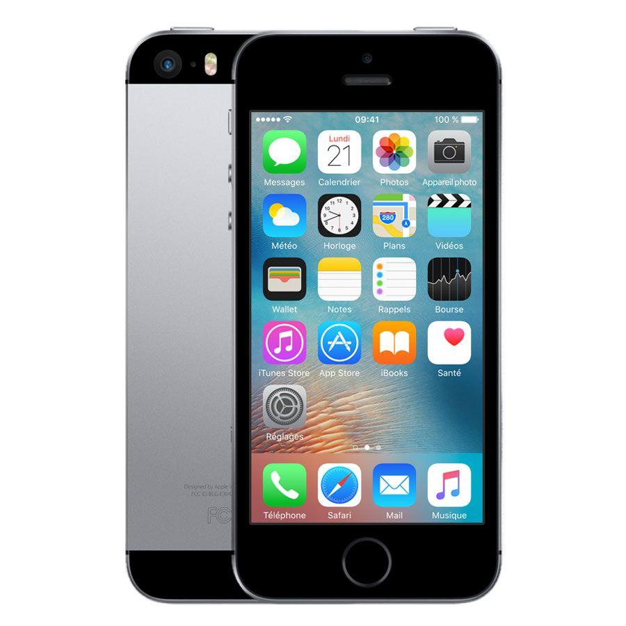 apple iphone se 32 go gris sid ral t l phones portables acheter au meilleur prix. Black Bedroom Furniture Sets. Home Design Ideas
