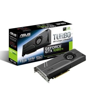 Asus GeForce GTX 1080 Ti 11 GB TURBO-GTX1080TI-11G