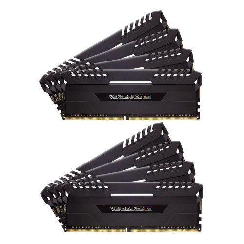Corsair Vengeance RGB Series 64 Go (8x8Go) DDR4 2666 MHz CL16