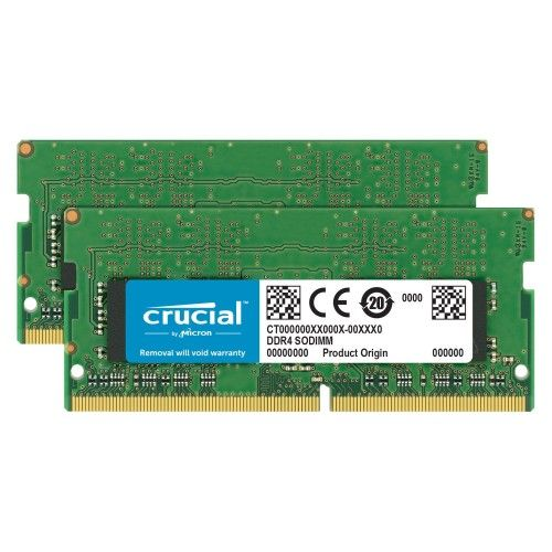 Crucial SO-DIMM DDR4 32 Go (2x16Go) 2666 MHz CL19 Dual Rank X8