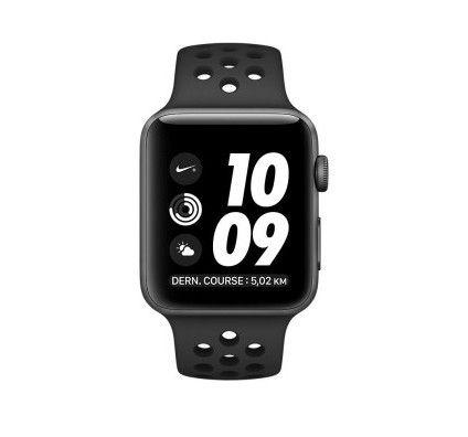 Apple Watch 2 Nike+ aluminium 42 mm gris sidéral