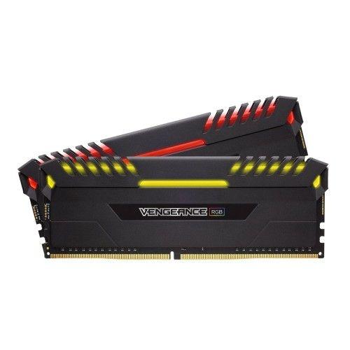 Corsair Vengeance RGB Series 16 Go (2x8Go) DDR4 2933MHz CL16 - Noir