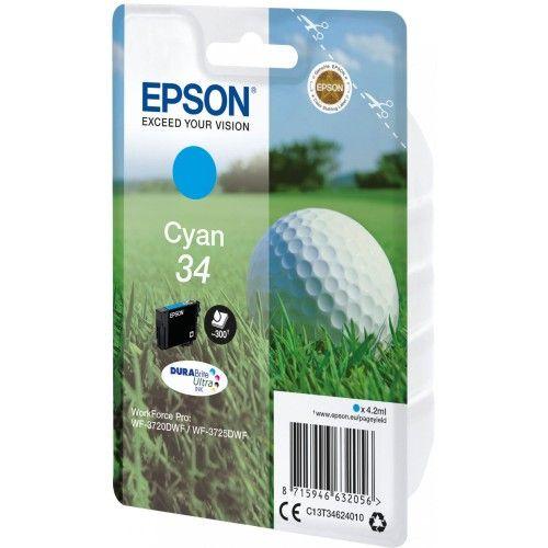 Epson Balle de Golf Cyan 34