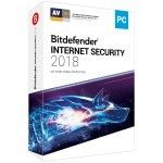 Bitdefender Internet Security 2018 - Licence 1 An 5 Postes