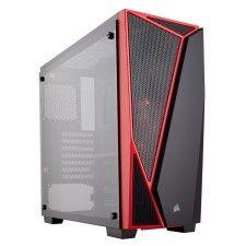 Corsair Carbide SPEC-04 Tempered Glass Noir/Rouge