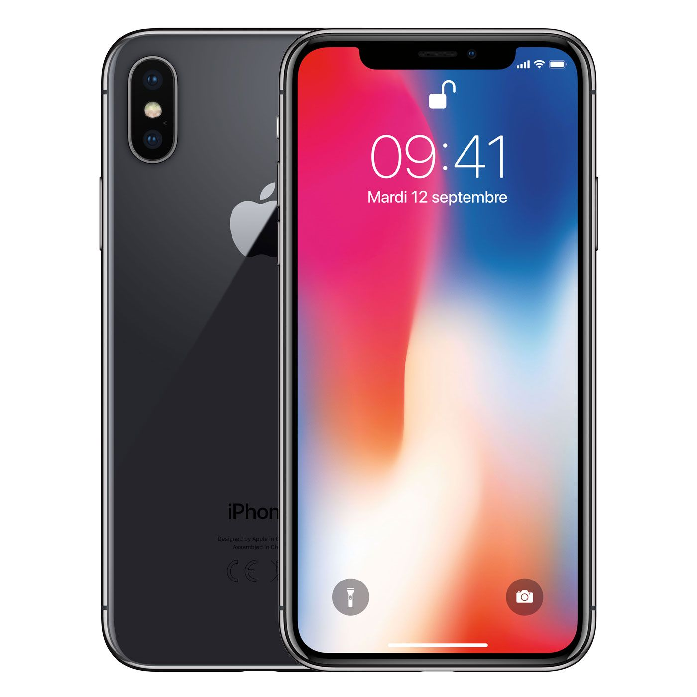apple iphone x 256 go gris sid ral t l phones portables acheter au meilleur prix. Black Bedroom Furniture Sets. Home Design Ideas