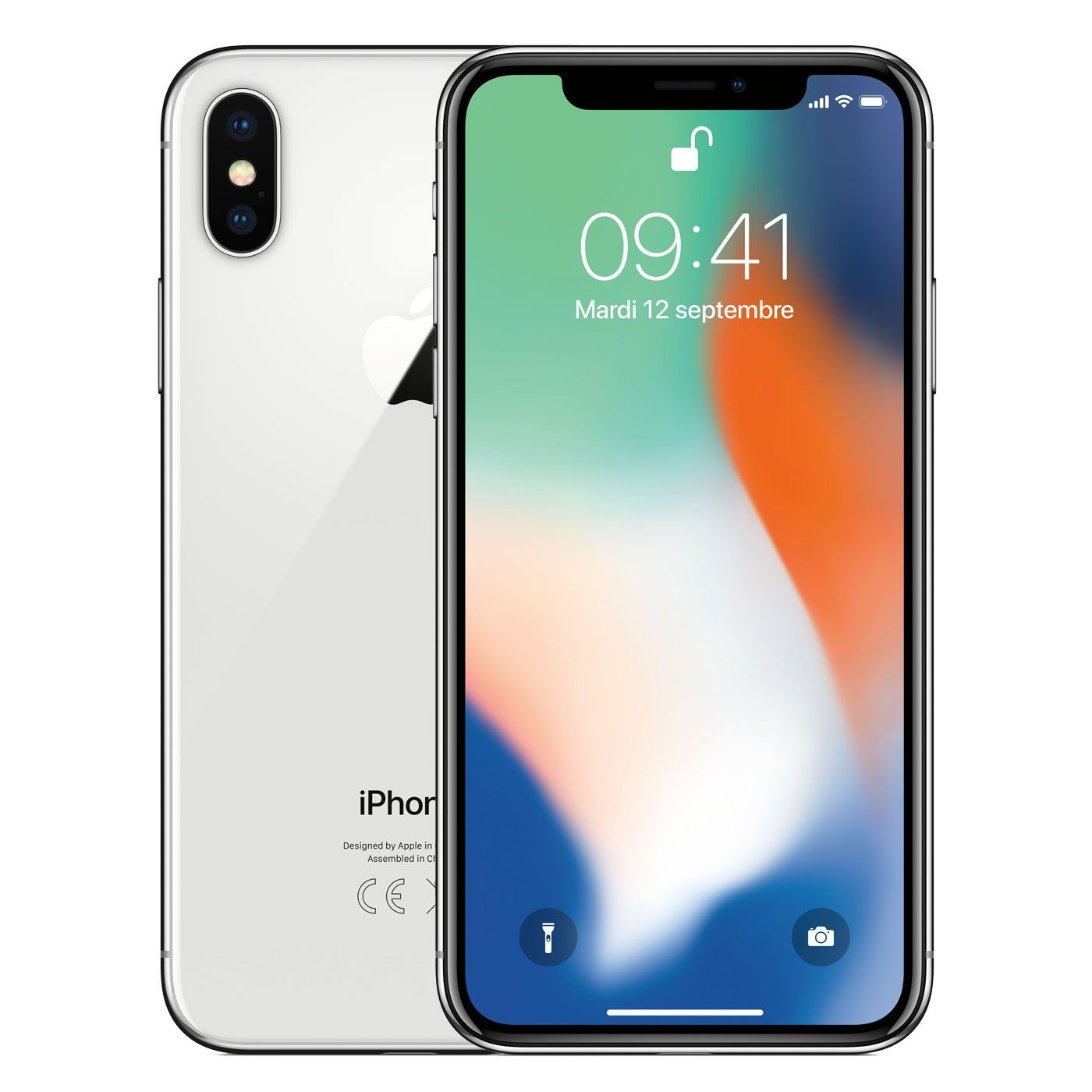 Apple iPhone X 64 Go Argent, Téléphones portables   Acheter au ... 54d5bbe8b920