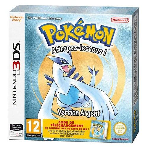 Pokemon Version Argent (Nintendo 3DS) - code de téléchargement