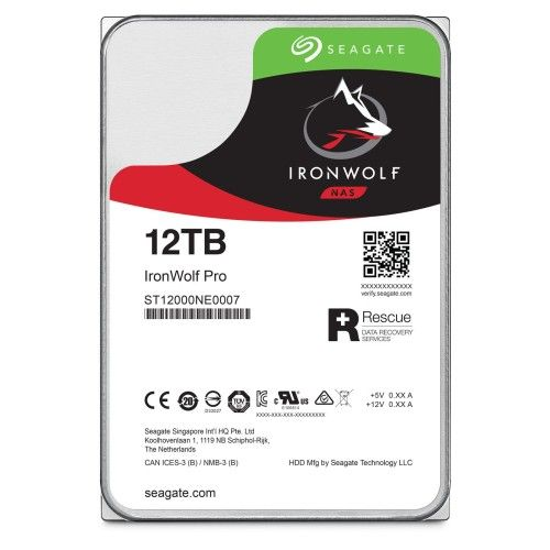 Seagate IronWolf Pro 12 To (ST12000NE0007)