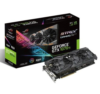 Asus GeForce GTX 1070 Ti ROG-STRIX-GTX1070Ti-A8G-GAMING