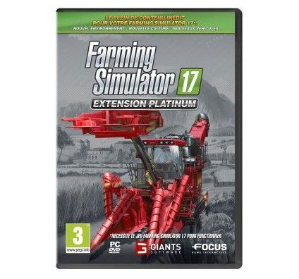 Farming Simulator 17 - Extension Platinum (PC)