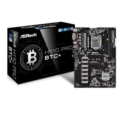 Asrock H110 Pro BTC+