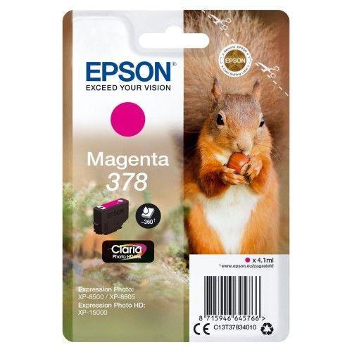 Epson Ecureuil Magenta 378