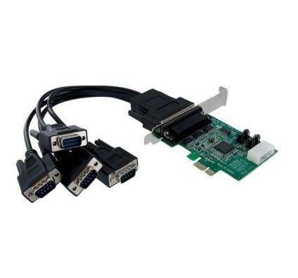 StarTech.com Carte PCI Express avec 4 Ports DB-9 RS232 - PEX4S952