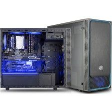 Cooler Master MasterBox E500L Windows Bleu