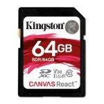 Kingston Canvas React SDR/64GB