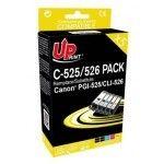 Uprint PGI-525/CLI-526 Pack 5