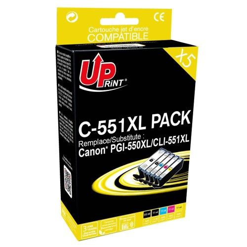 Uprint PGI-550XL/CLI-551XL Pack 5