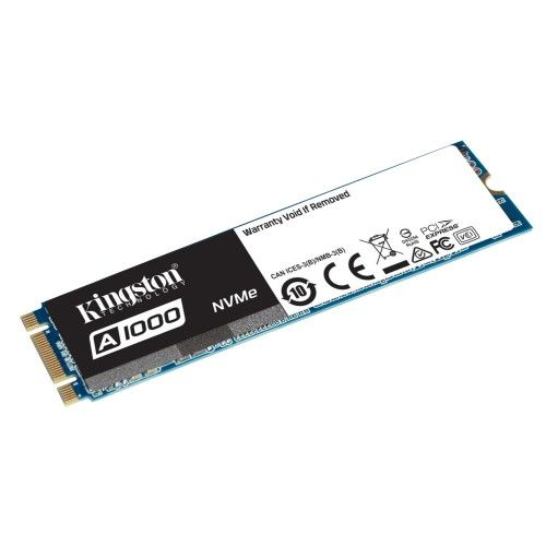 Kingston A1000 M.2 PCIe NVMe 480 Go