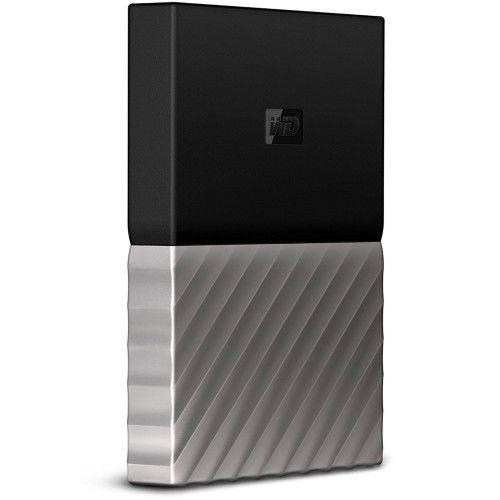 WD My Passport Ultra 2 To Gris-Noir (USB 3.0) - WDBTLG0020BGY-WESN