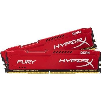 Kingston HyperX Fury Red DDR3-1333 CL9 8Go (2x4Go)
