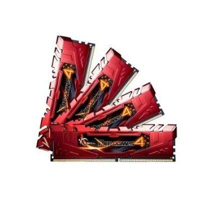 G.Skill Ripjaws 4 Rouge DDR4-3000 CL15 16Go (4x4Go) - F4-3000C15Q-16GRR