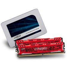 Crucial Ballistix Sport LT DDR4 2 x 8 Go 2400 MHz