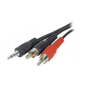 Cable Jack 3.5 mâle vers RCA 3m